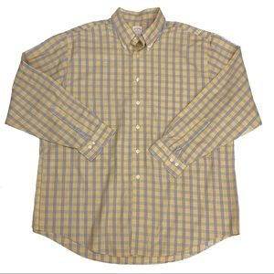 Brooks Brothers Non-Iron Button Down XL Plaid